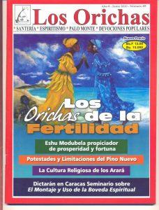 085-P-Revista Los Orichas