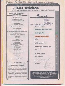 086-I-Revista Los Orichas