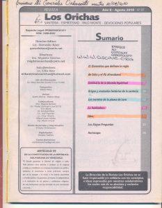 087-I-Revista Los Orichas