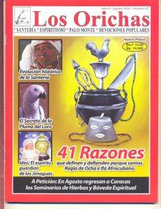 087-P-Revista Los Orichas