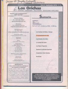 088-I-Revista Los Orichas