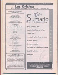 089-I-Revista Los Orichas
