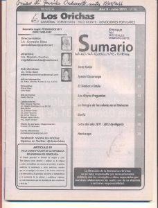098-I-Revista Los Orichas