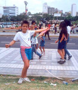 F-03213-Papagallos-Festival-Fundarte-Caracas-Paseo-Vargas-Dia-Niño-15-11-1991-Moraiba-Tibisay-Pozo
