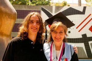 Beatriz Hernandez con Gabriel Rodriguez Hernandez