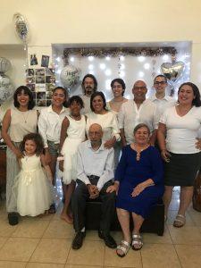 Conny y José y familia